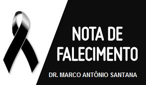 Falecimento do Dr. Marco Santana