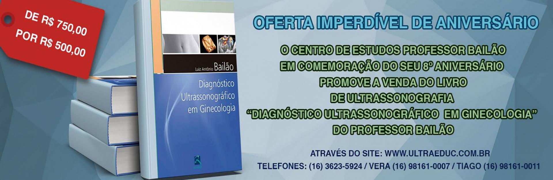 LIVRO DE ULTRASSONOGRAFIA  �DIAGN�STICO ULTRASSONOGR�FICO  EM GINECOLOGIA�