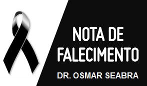 Falecimento do Dr. Osmar Seabra