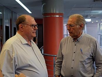 Visita do Diretor do CREMAM - Dr. José Bernardes Sobrinho - P�S GRADUA��O ULTRASSONOGRAFIA EM MANAUS/AM